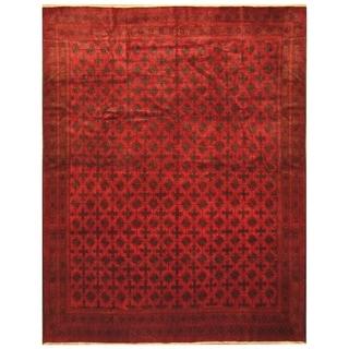 Handmade Balouchi Wool Rug (Afghanistan) - 9'10 x 12'6