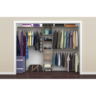 "ClosetMaid SuiteSymphony 16 in. Closet Organizer with Shelves and 2 Drawers - 16"" wide"