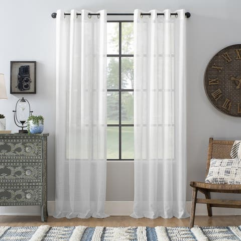 81f08d82bf Buy Off-White Sheer Curtains Online at Overstock | Our Best Window ...