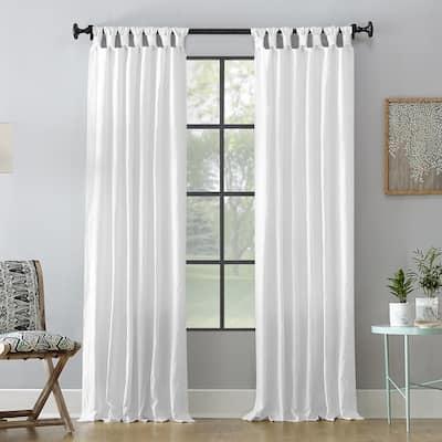 Archaeo Washed Cotton Twist Tab Single Curtain Panel, Single Panel