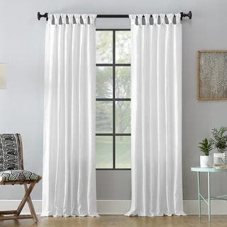 Link to Archaeo Washed Cotton Twist Tab Single Curtain Panel Similar Items in As Is