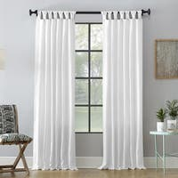 Archaeo Washed Cotton Twist Tab Single Curtain Panel