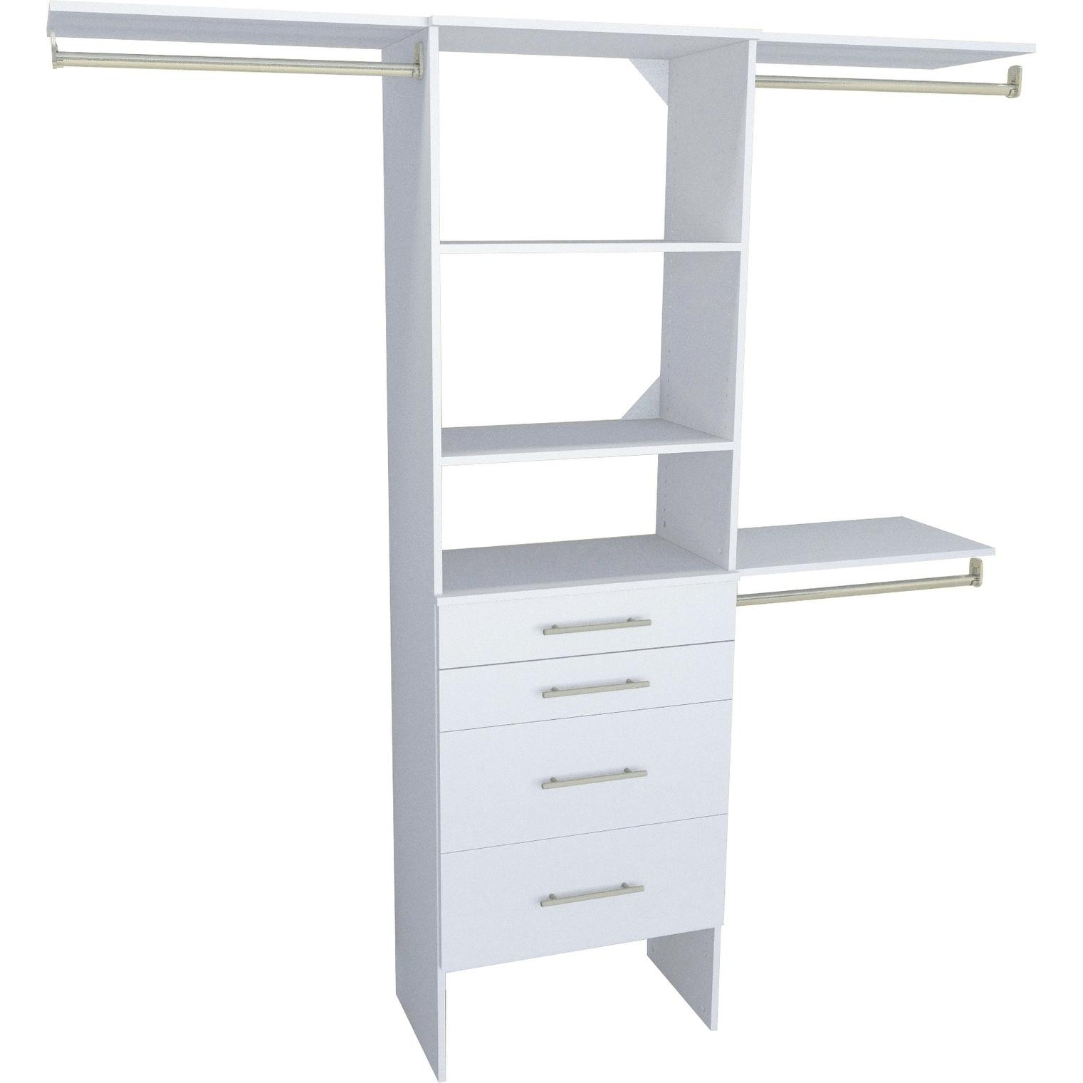 White Closet Organizers Systems Online At Our Best Storage Organization Deals