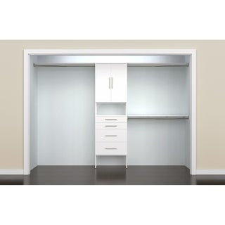 ClosetMaid SuiteSymphony Modern 25 in. Closet Organizer with 4 Drawers & 2 Doors