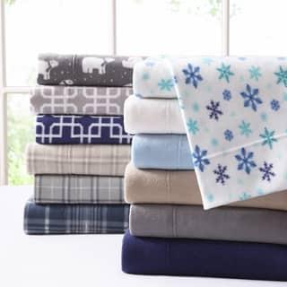 Asher Home Ultra Plush Fleece Sheet Set