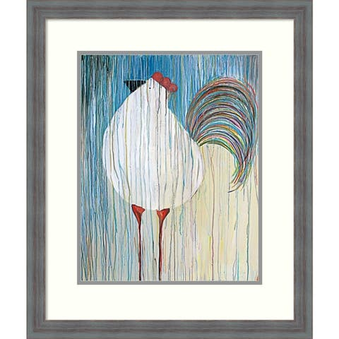 Framed Art Print 'Morning Glory II' by Kathryn Fortson