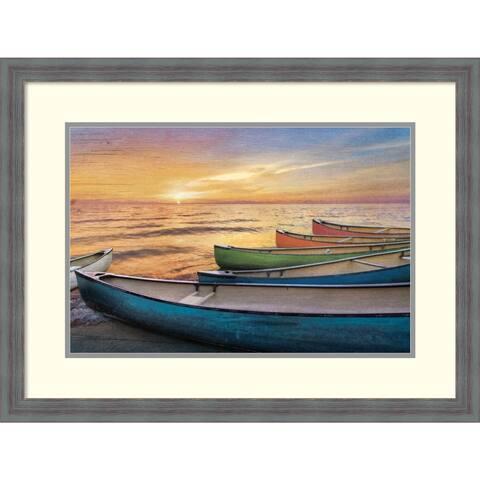 Framed Art Print 'Rainbow Armada' by Celebrate Life Gallery
