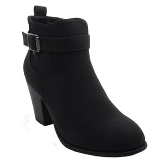 Link to BLUE Womens LOKO Low Heel Ankle High Fashion Boots Similar Items in Women's Shoes