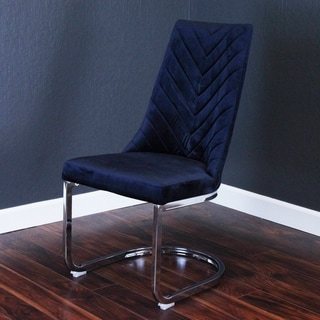 Link to Silver Orchid Duse Velvet Chair Similar Items in Dining Room & Bar Furniture
