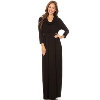 Women's Solid & Print Casual Basic Comfortable Maxi Dress