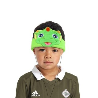 Contixo Kids Dinosaur Fleece Headphones H1 Wired, Ultra-Thin 85dB Volume Limiting Hearing Protection Soft Fleece Headband