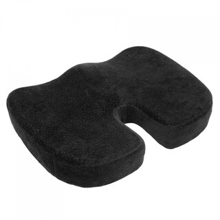 Aurora Black Memory Foam Coccyz Seat Cushion