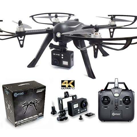 Contixo F17+ RC Drone With Camera Quadcopter Photography Drone 4K Ultra HD Camera Wide Angle Lens Best Drone For Beginners