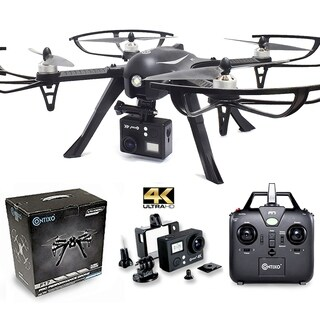 Contixo F17+ RC Quadcopter Photography Drone 4K Ultra HD Camera 16MP, Brushless Motors