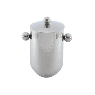 """Full Polished Stainless Steel 10"""" Ice Bucket"""