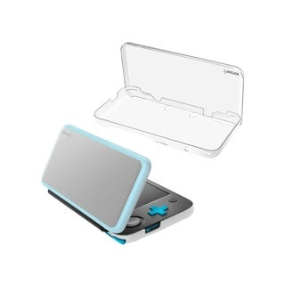 INSTEN Clear Hard Plastic [Shock-Absorbing] [Drop-Resistance] Protective Snap-in Crystal Case for Nintendo New 2DS XL