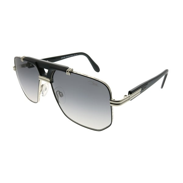 3bc7d446aa Cazal Aviator Cazal 990 002SG Unisex Black Silver Frame Grey Gradient Lens  Sunglasses