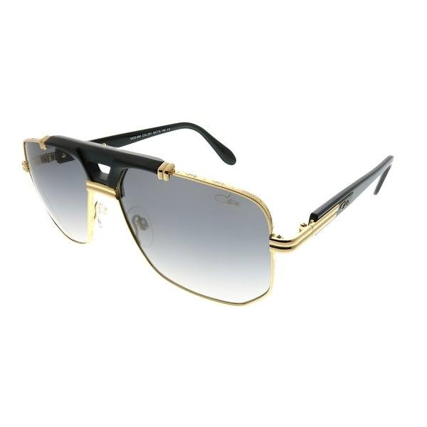 840ade99eb3 Cazal Aviator Cazal 990 001SG Unisex Gold Black Frame Grey Gradient Lens  Sunglasses