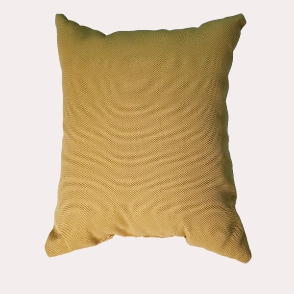 MyUmbrellaShop 17 inch Square Cornsilk Throw Pillow