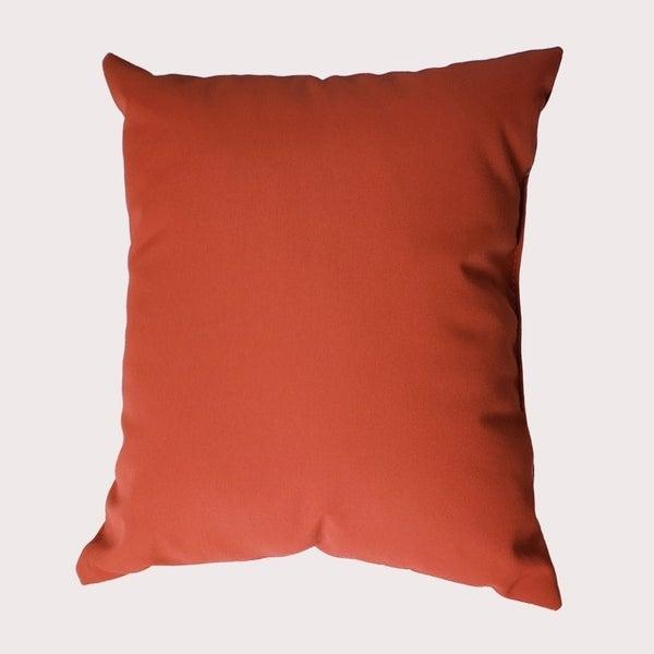 MyUmbrellaShop 17 inch Square Melon Throw Pillow