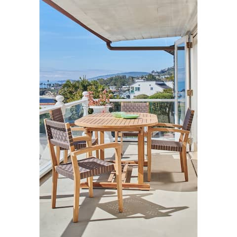 Herning Teak Outdoor Stacking Armchair (Set of 4)