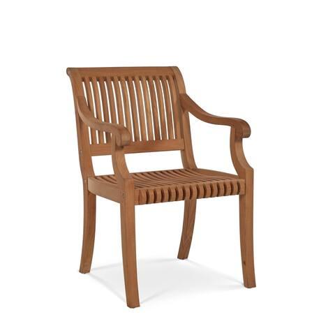 Palm Teak Outdoor Armchair