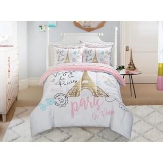 Paris Bonjour Comforter Set