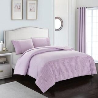 Tufted Stripe Comforter Set
