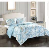 Metallic Marble Comforter Set