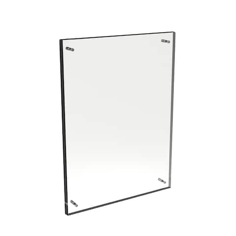 Acrylic 14x19 Picture Clear Floating Frame by Lavish Home