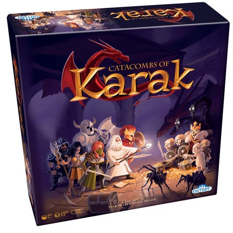 Outset Media Catacombs of Karak Role Play Game