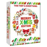Outset Media This That & Everything: Merry Xmas Edition Party Game