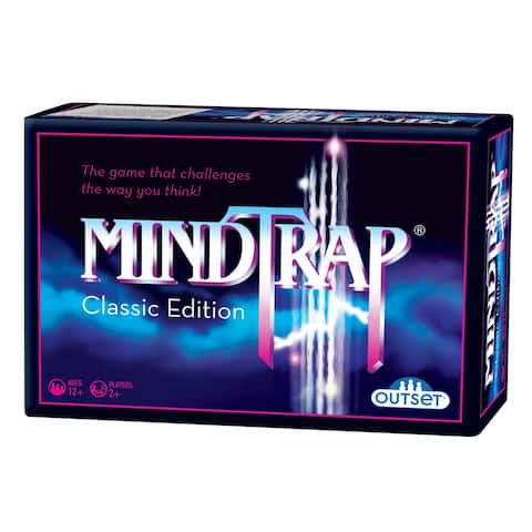 Outset Media Mindtrap Game: Classic Edition