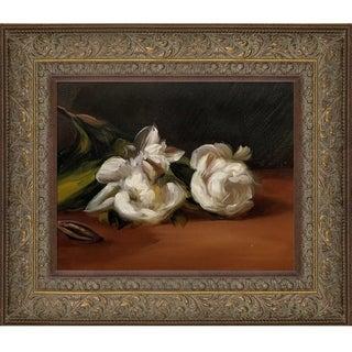 Edouard Manet 'Branch Of White Peonies With Pruning Shears' Hand Painted Oil Reproduction