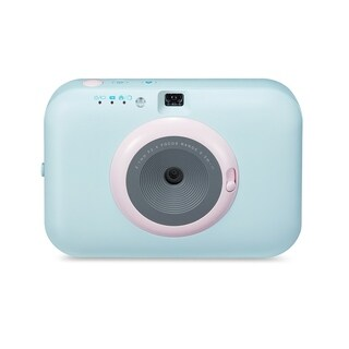 LG Pocket Photo Snap Digital Camera-Blue PC389S