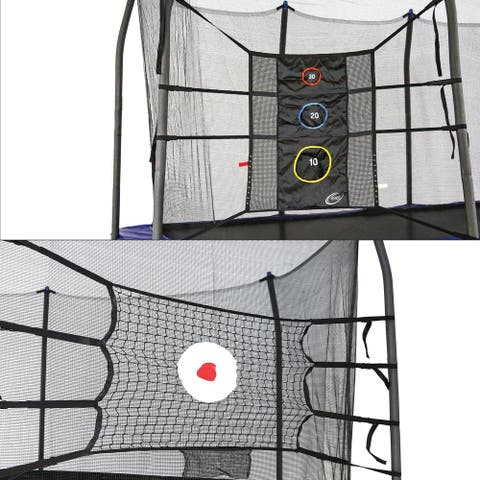 Skywalker Trampolines Game Kit w bounce back and triple toss games