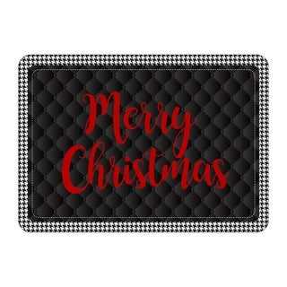 Holiday Houndstooth 22x31 Mat