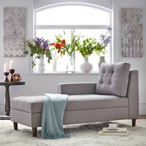 Simple Living Sabrina Storage Chaise