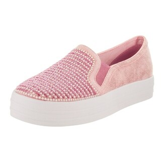 Skechers Kids Double Up - Shiny Dancer Slip-On Shoe