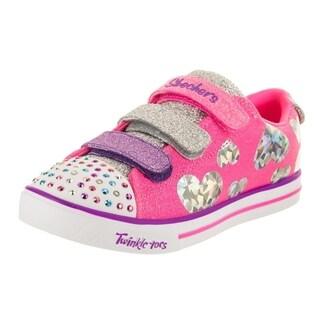 Skechers Kids Twinkle Toes - Sparkle Lite - Flutter Fab Casual Shoe