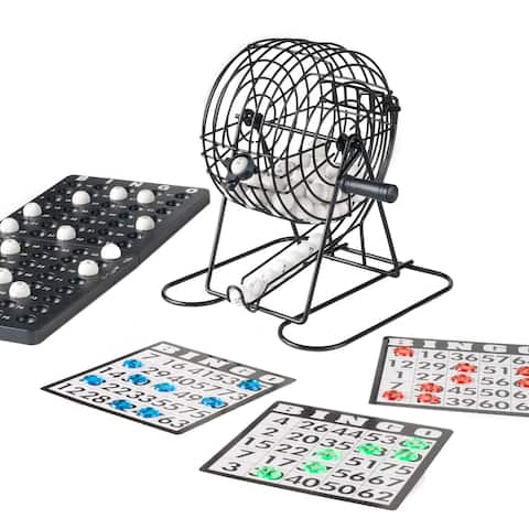 Complete Bingo Set Deluxe Classic Carnival Game by Hey! Play!