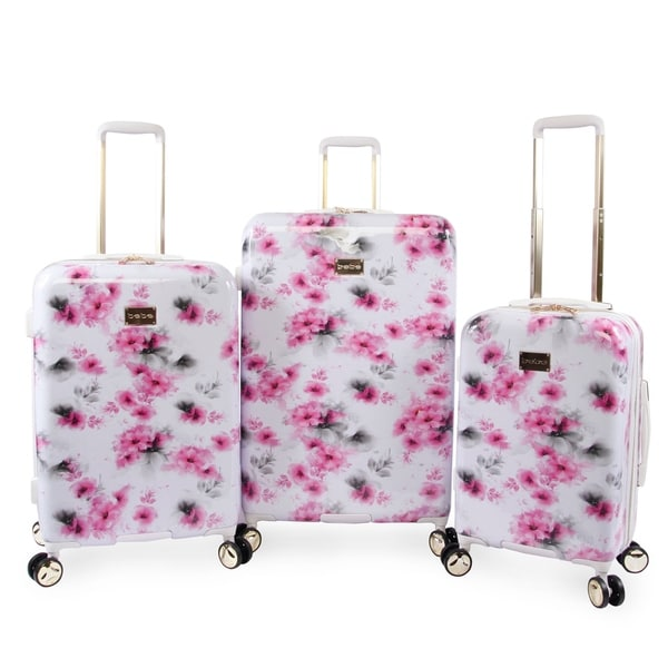 Bebe Juliette 3-pc Hardside Spinner Luggage Set