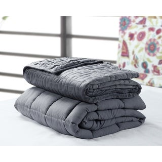 Weighted Blanket with Option of Quilted Duvet Cover