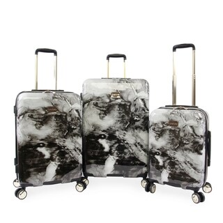 Bebe Teresa 3-pc Hardside Spinner Luggage Set