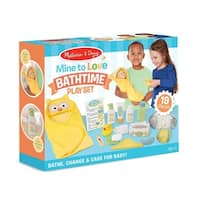 Mine to Love Changing & Bathtime Play Set