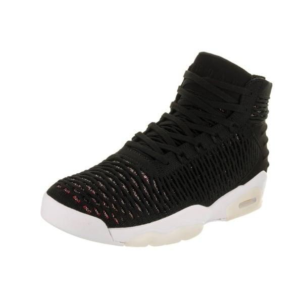 Jordan Nike Mens Flyknit Elevation 23 Black//Black//University Red Basketball Shoe 13 Men US
