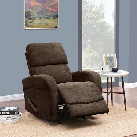 Handmade ProLounger Chenille Recliner Chair