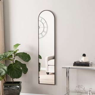 Silver Orchid Rosing Decorative Full-length Mirror