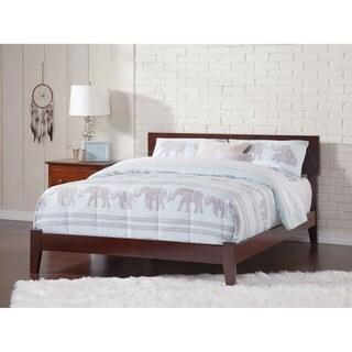 Orlando Queen Traditional Bed in Walnut