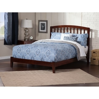 Richmond Queen Traditional Bed in Walnut